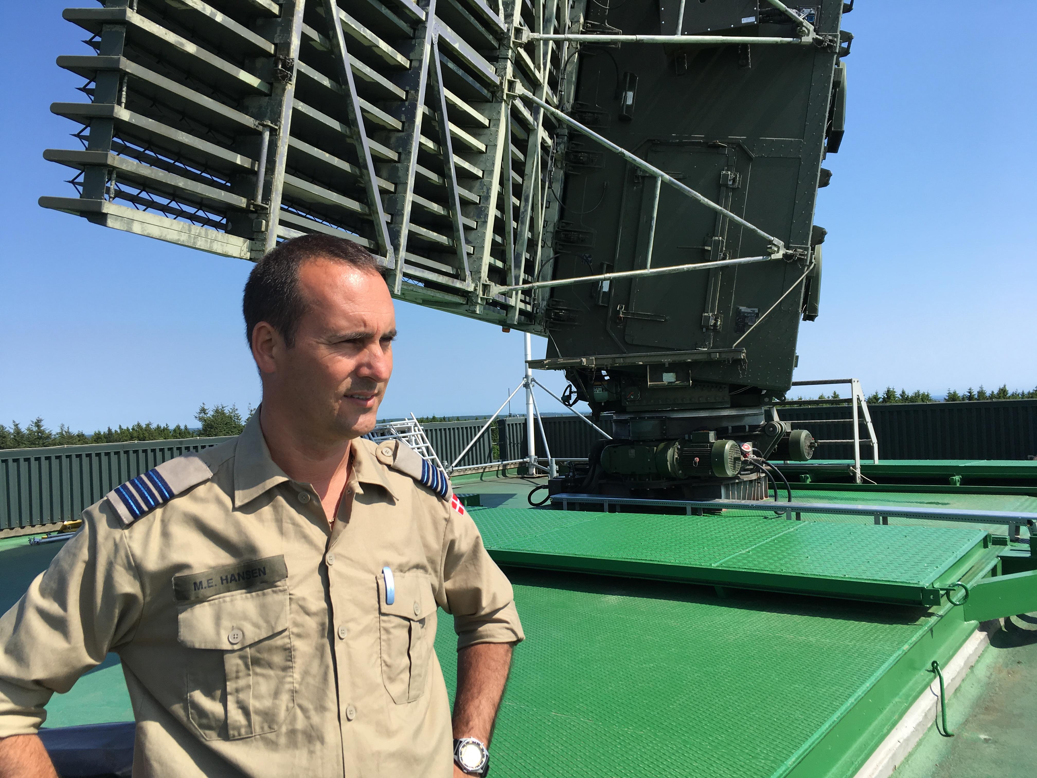 Radarhoved Bornholm