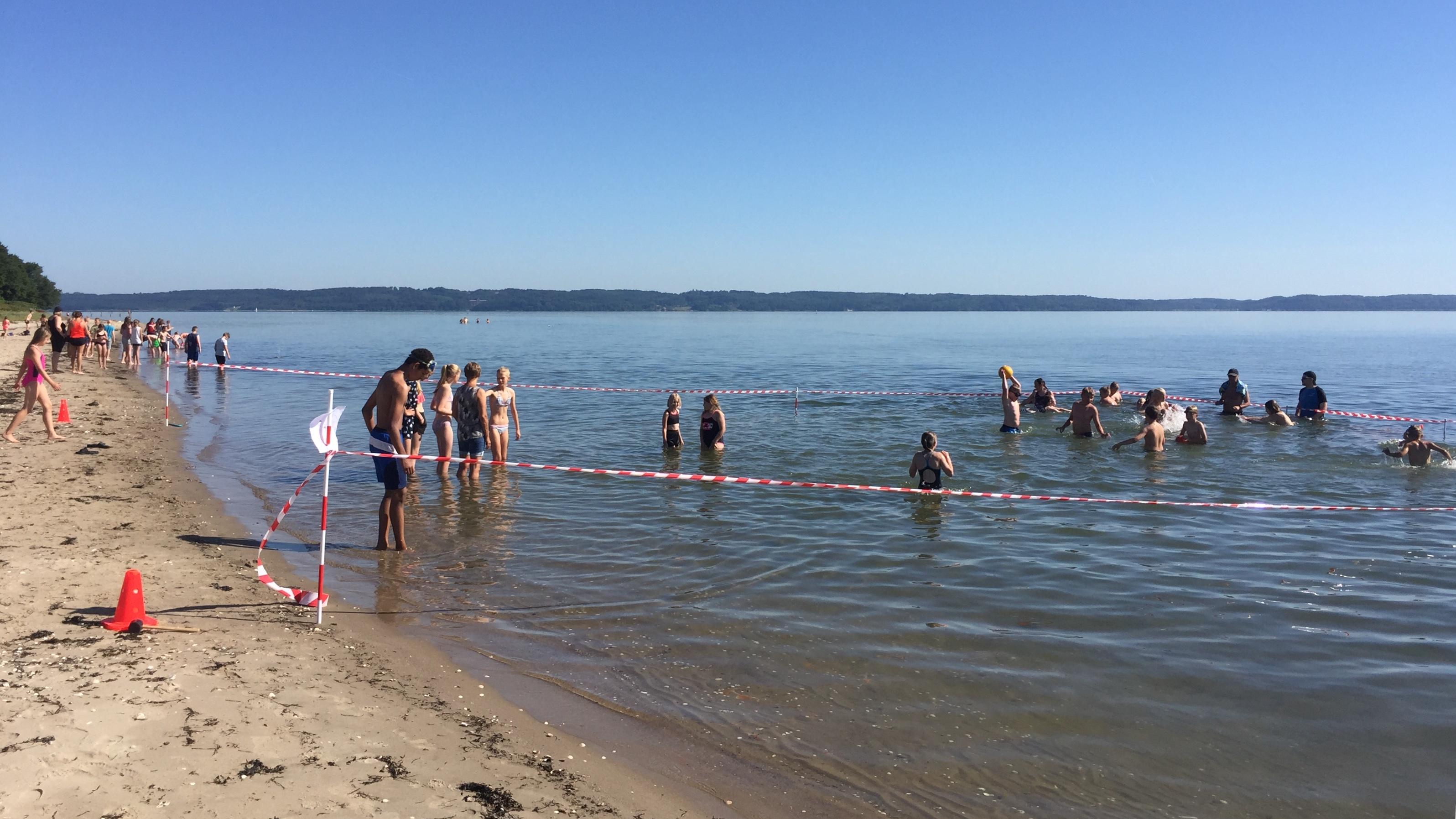 Skole flytter på stranden
