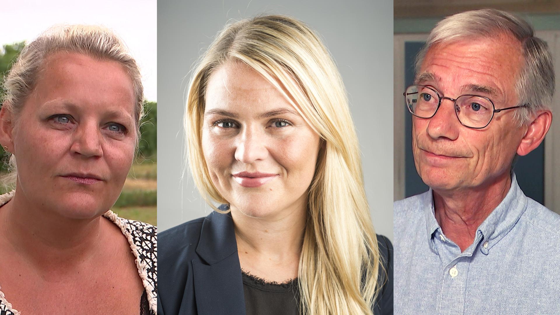 Karina Adsbøl, Laura Lindahl, Jakob Sølvhøj