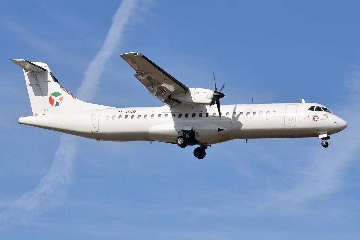 Danish Air Transport, Vamdrup, skrot, fly, OY-RUD