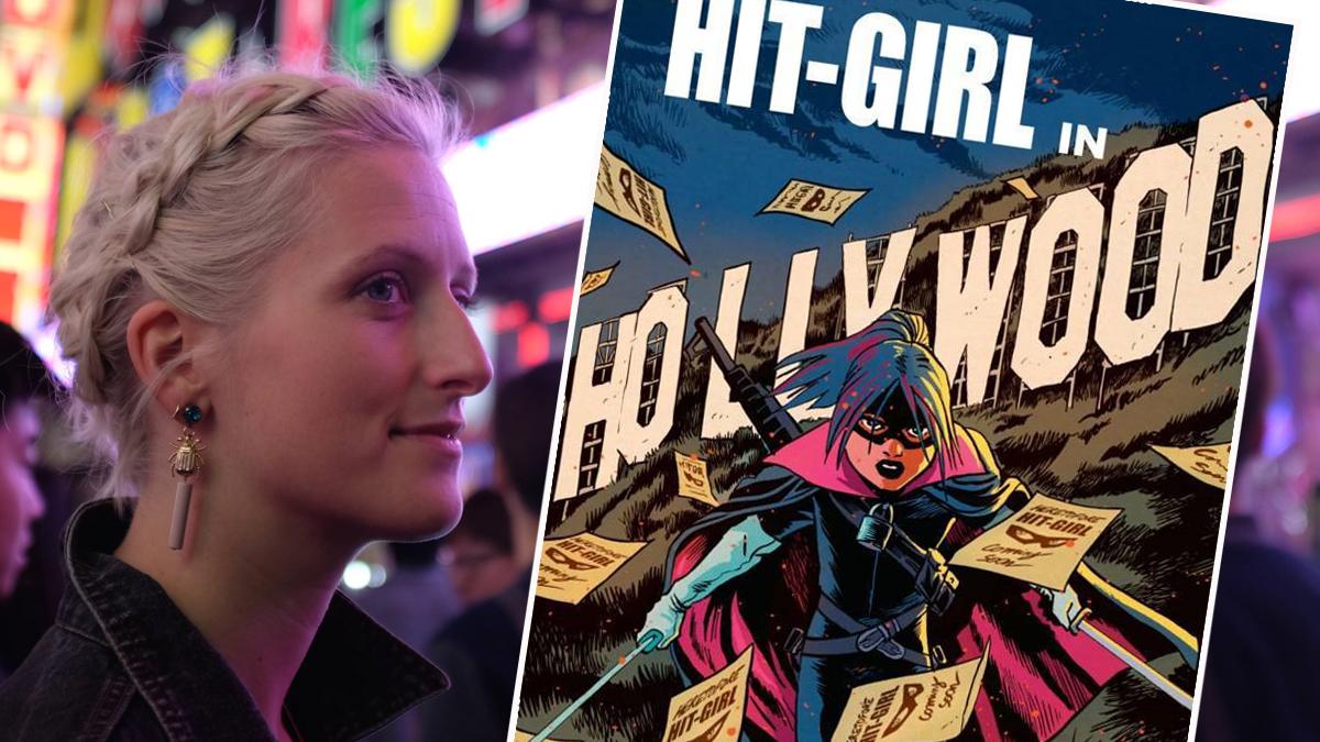 Den danske tegner Pernille Ørum skal tegne Hit-girl