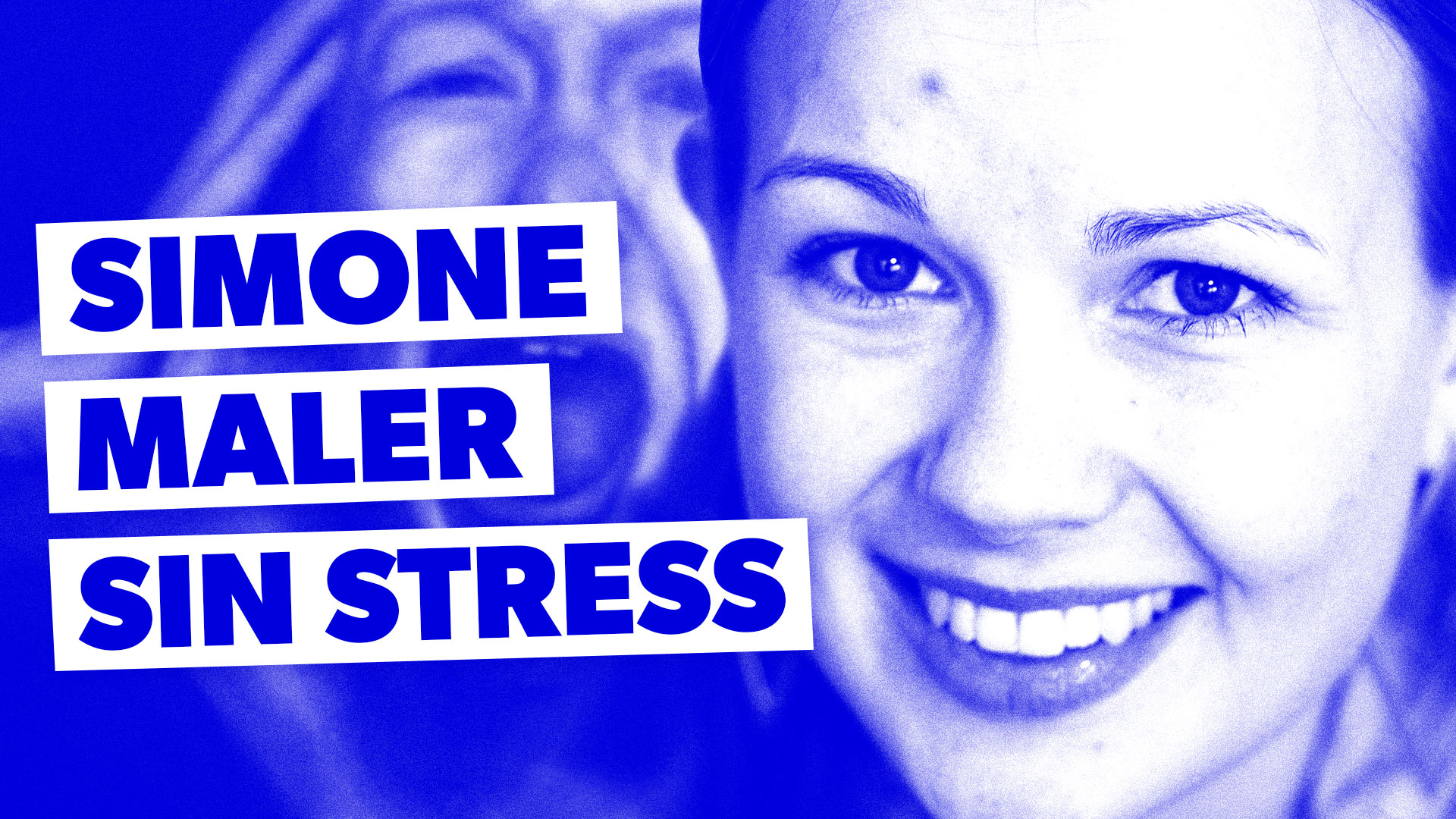 Simone maler sin stress