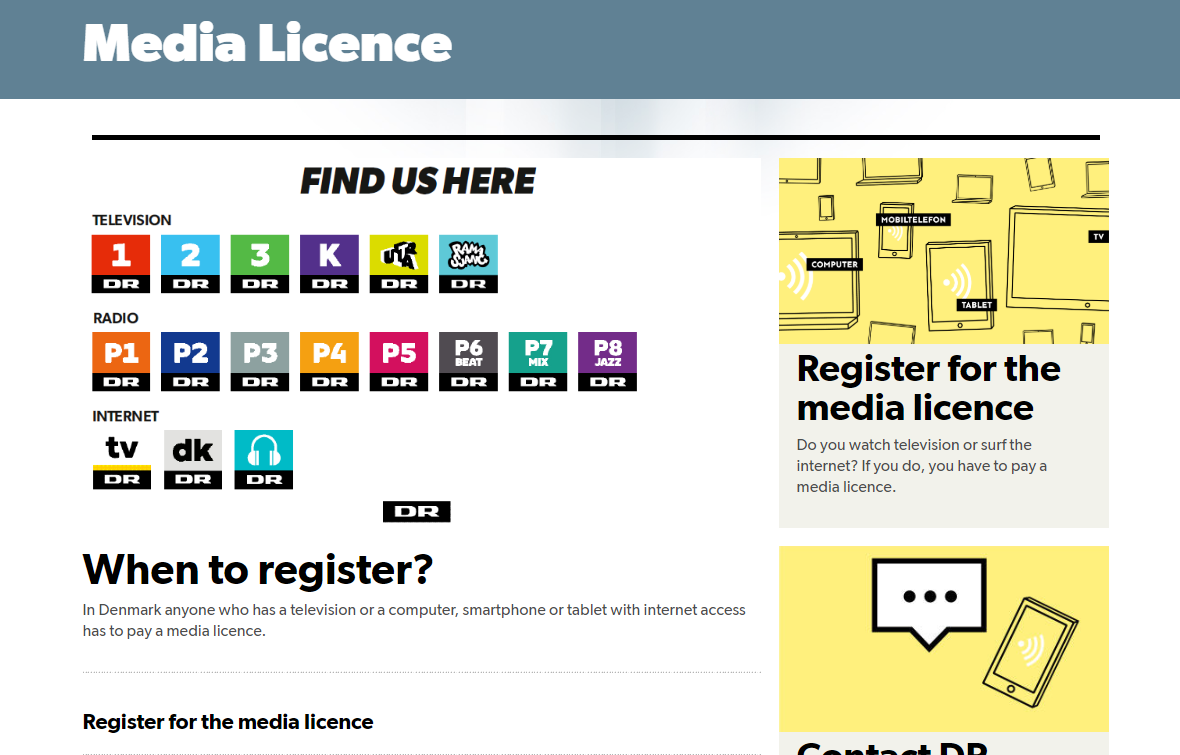 Licens english