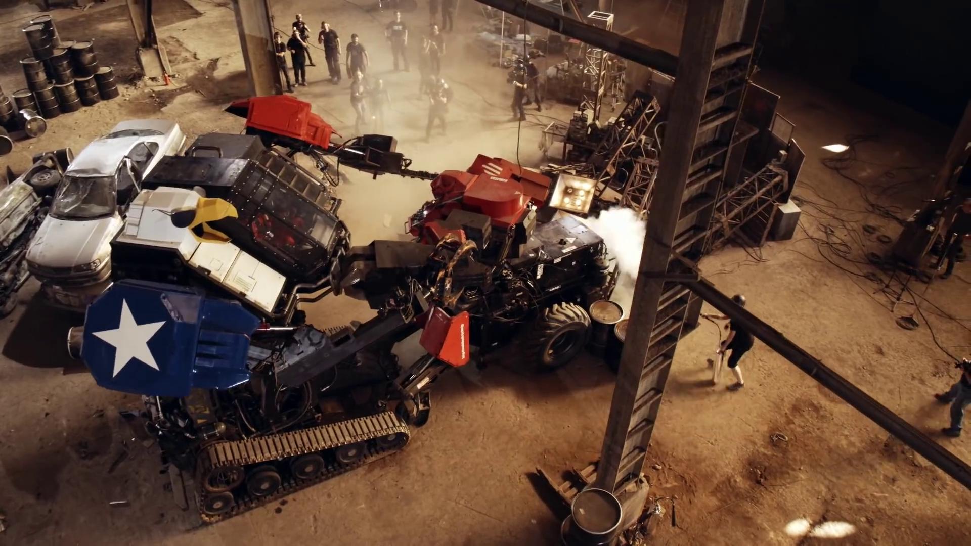 Eagle Prime i kamp mod den japanske Kuratas robot