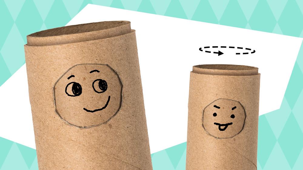 Lav en rulling, der kan ændre ansigtsudtryk