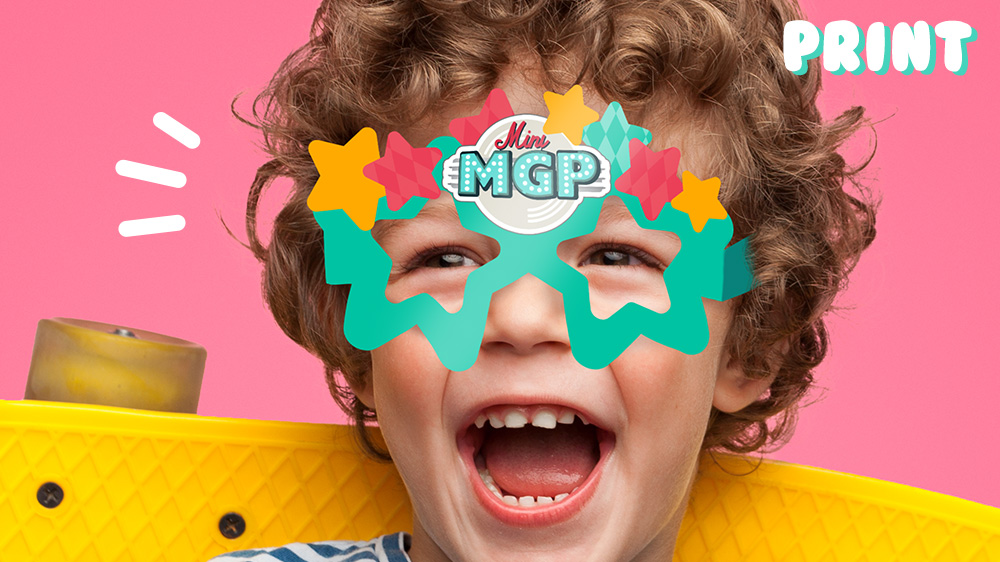 Print Mini MGP stjernebriller