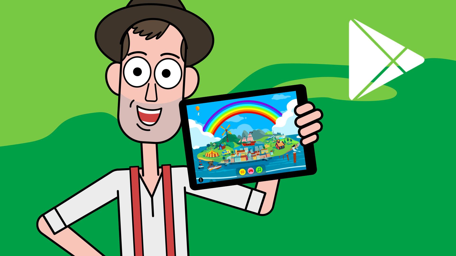 App til android mobil og tablet