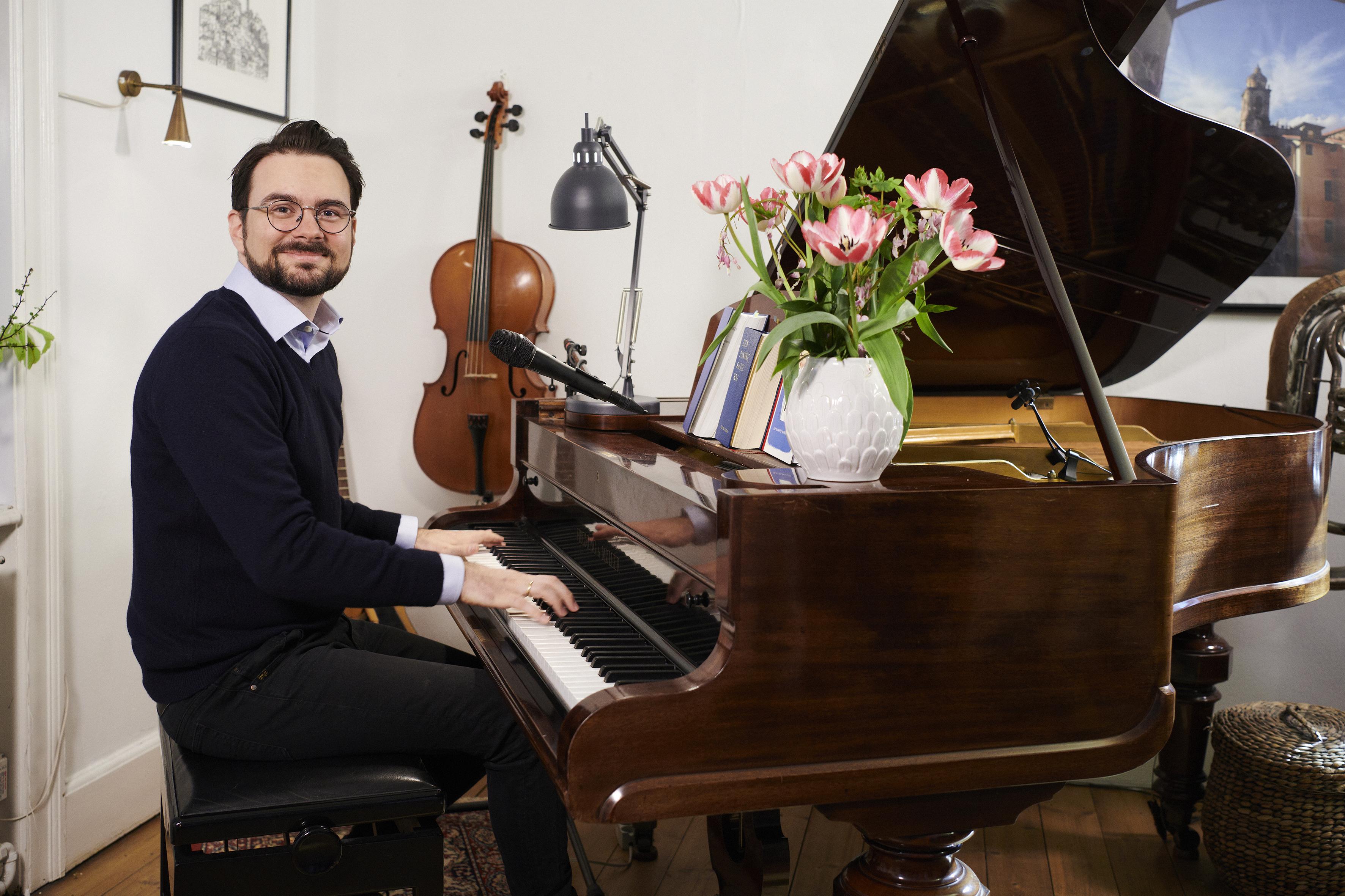 'Morgensang' med Phillip Faber
