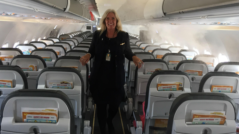Connie er ikke en hvilken som helst stewardesse