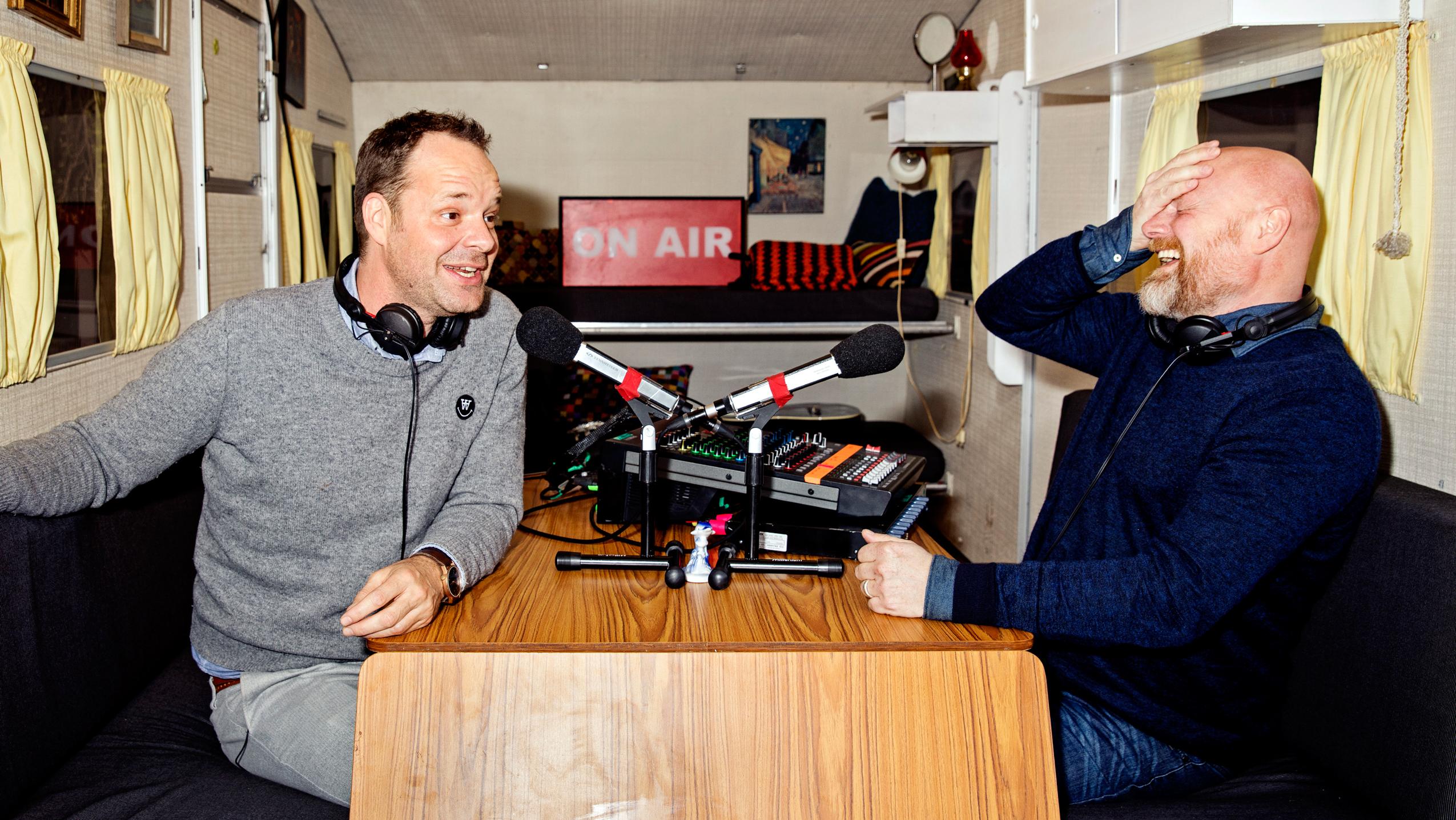 Steffensen og Riising leverer rørende lokalradio