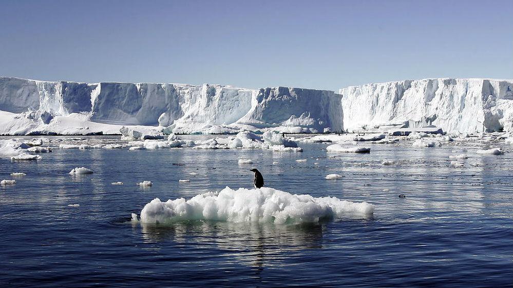 Er Antarktis gået i stykker?