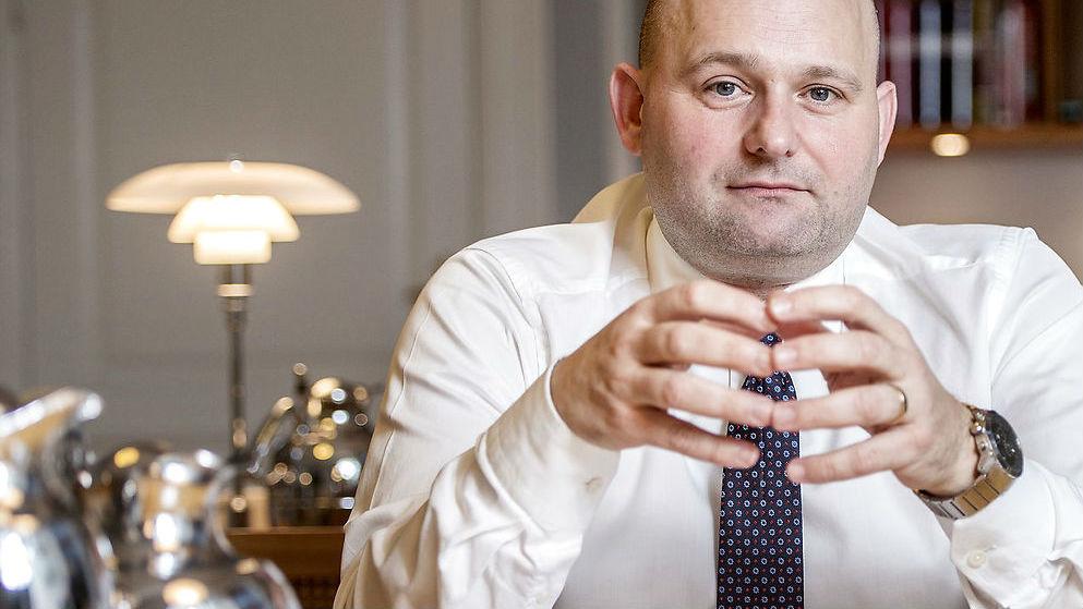 Justitsminister Søren Pape Poulsen er ugens gæst
