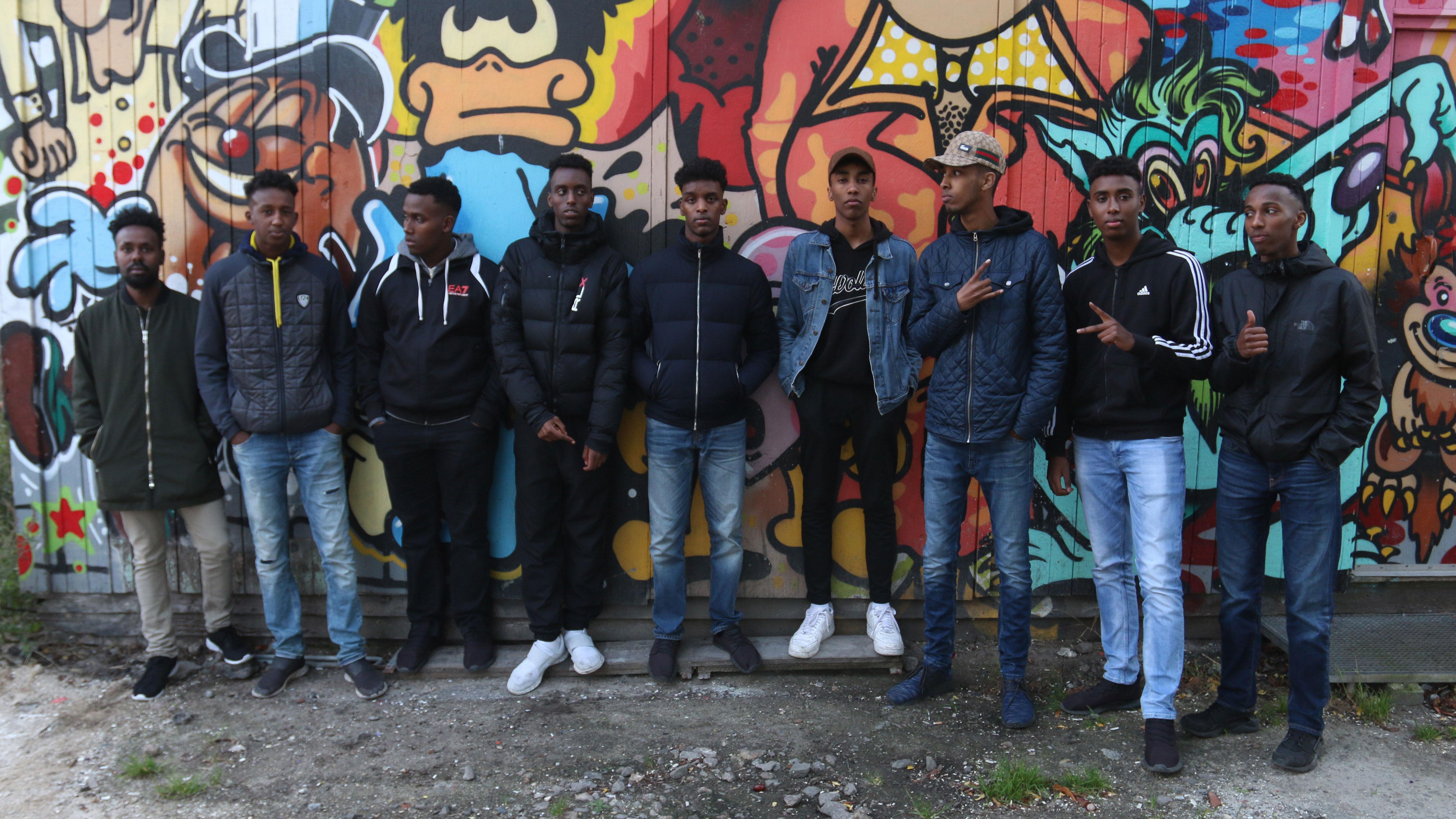 P1 Dokumentar: Kunst som alternativ til bandemiljøet