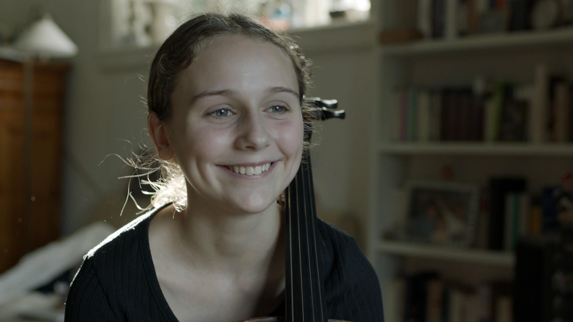 13-årige Lilli deltager i Vidunderbørn på DR1