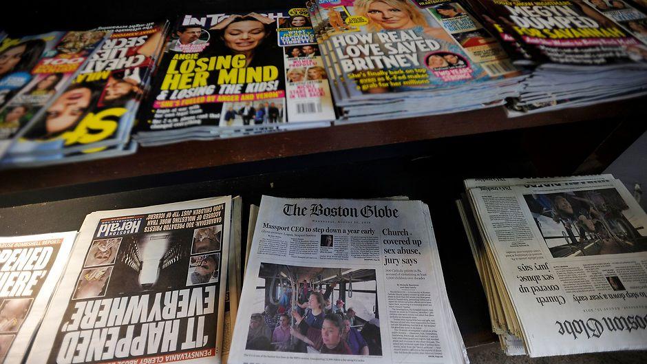 """Mennesker og medier: Avisredaktører i krig med """"The Donald"""""""