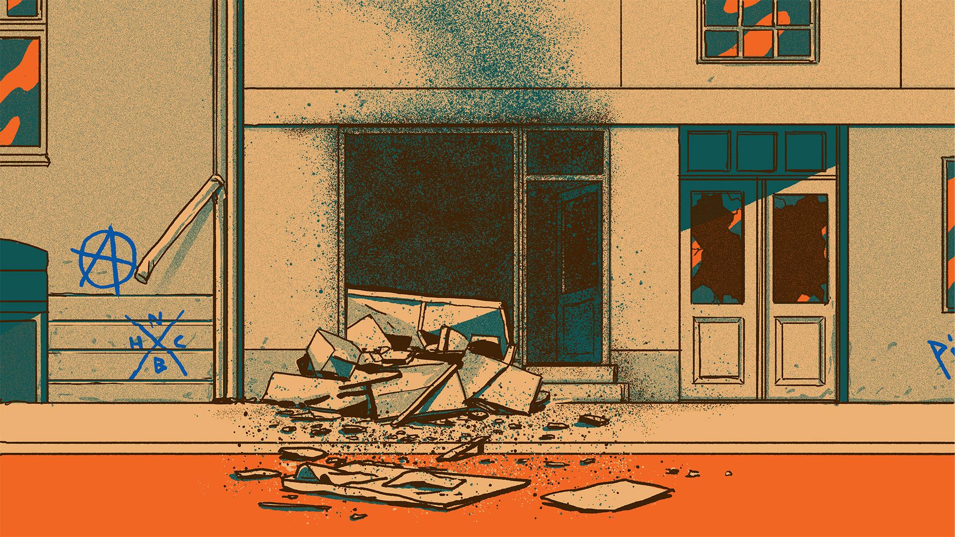 Bomben i Søllerødgade 1:5 - Den brune pakke