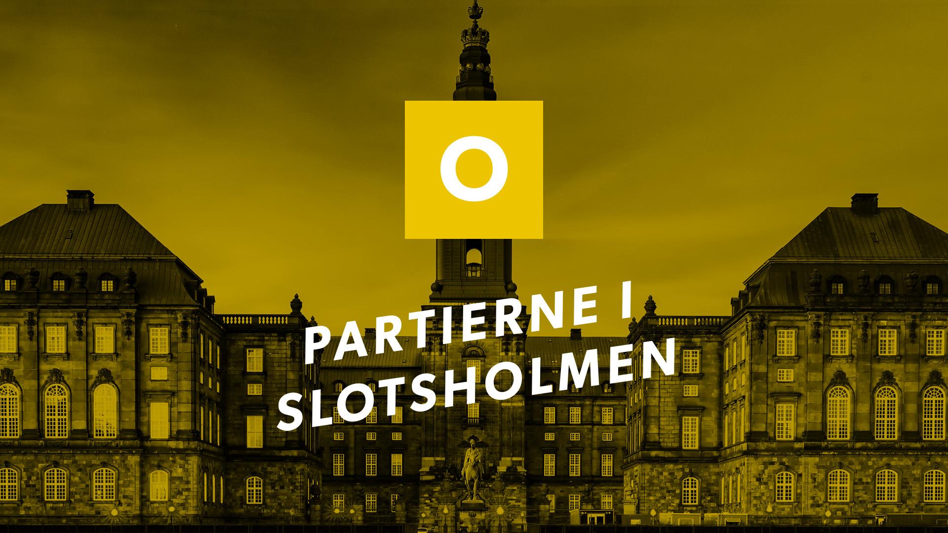 Partierne i Slotsholmen: Dansk Folkeparti