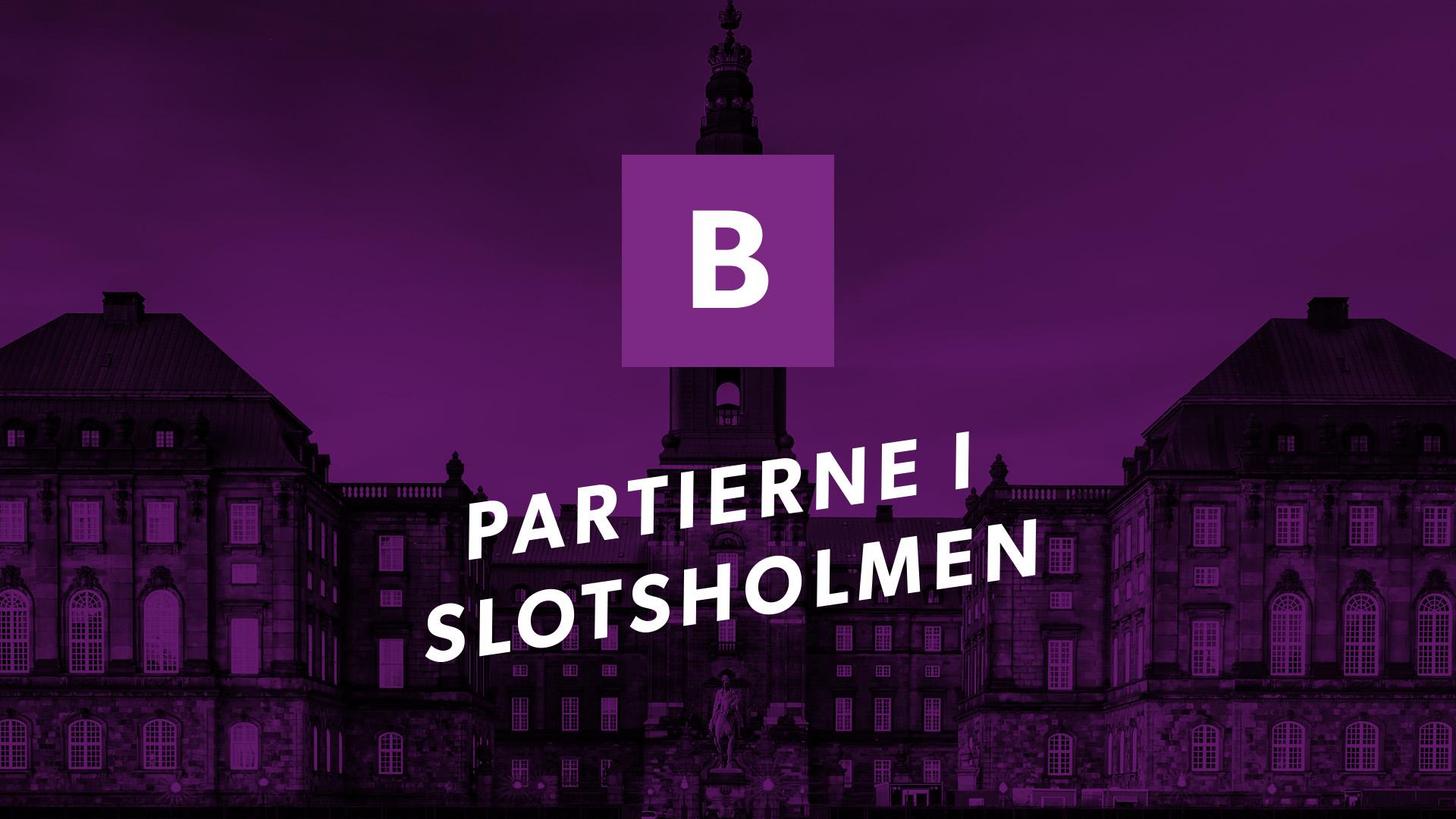 Partierne i Slotsholmen: Det Radikale Venstre