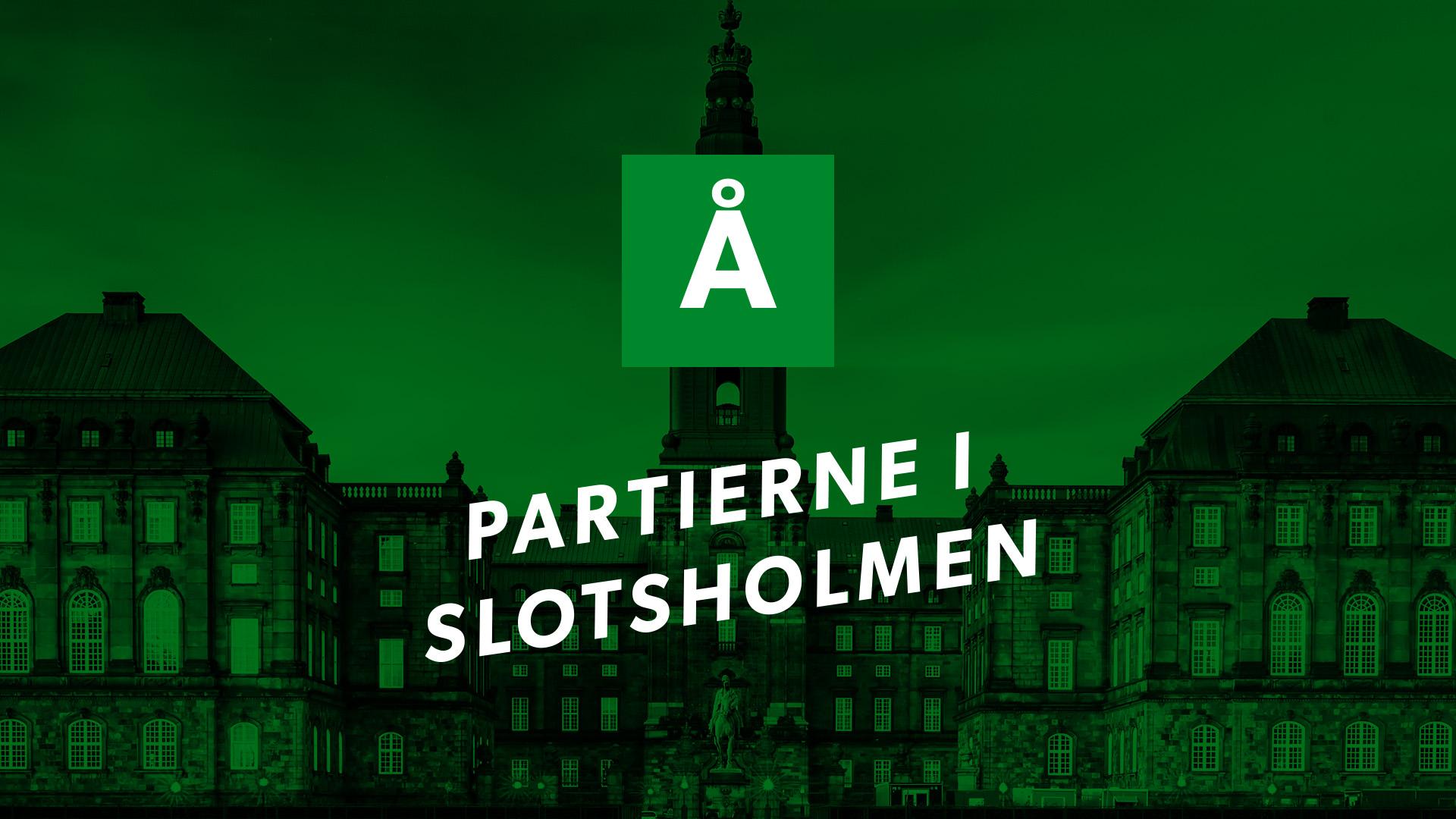 Partierne i Slotsholmen: Alternativet