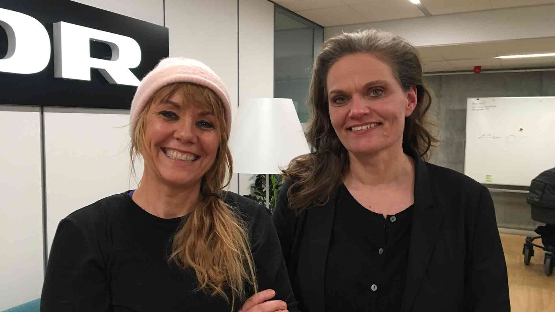 Ping Pong - med Line Knutzon og Sørine Godtfredsen