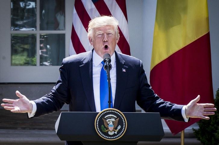 P1 Debat: Er Trump ren?