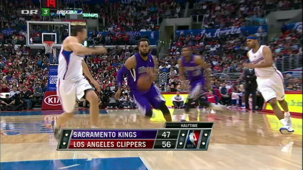 NBA Basketball: L.A. Clippers-Sacremento Kings, direkte