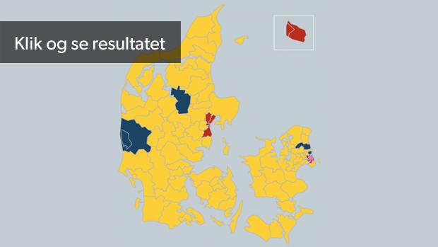 Kort Da Dansk Folkeparti Blev Storst I Hele Danmark Ep14 Dr