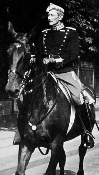 Kong Christian den 10., som kronprinsen er opkaldt efter.