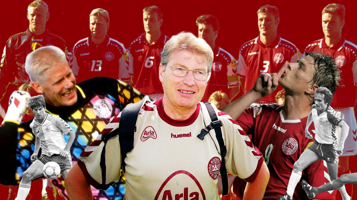 Allan har rejst med landsholdet i 35 år: Her er hans bedste anekdoter)