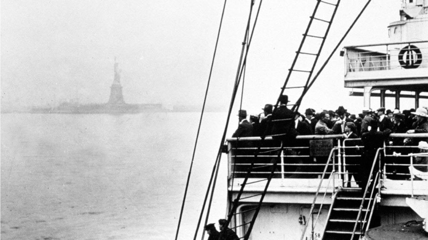udvandring til amerika fra danmark