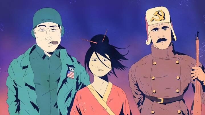 Hvad nu hvis Hiroshima og Nagasaki IKKE var blevet bombet: En atombombe over Korea og et splittet Japan?