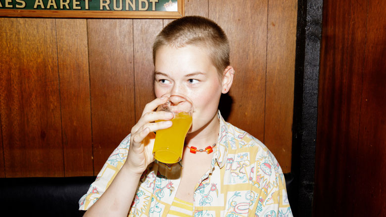 Ellen drikker ikke