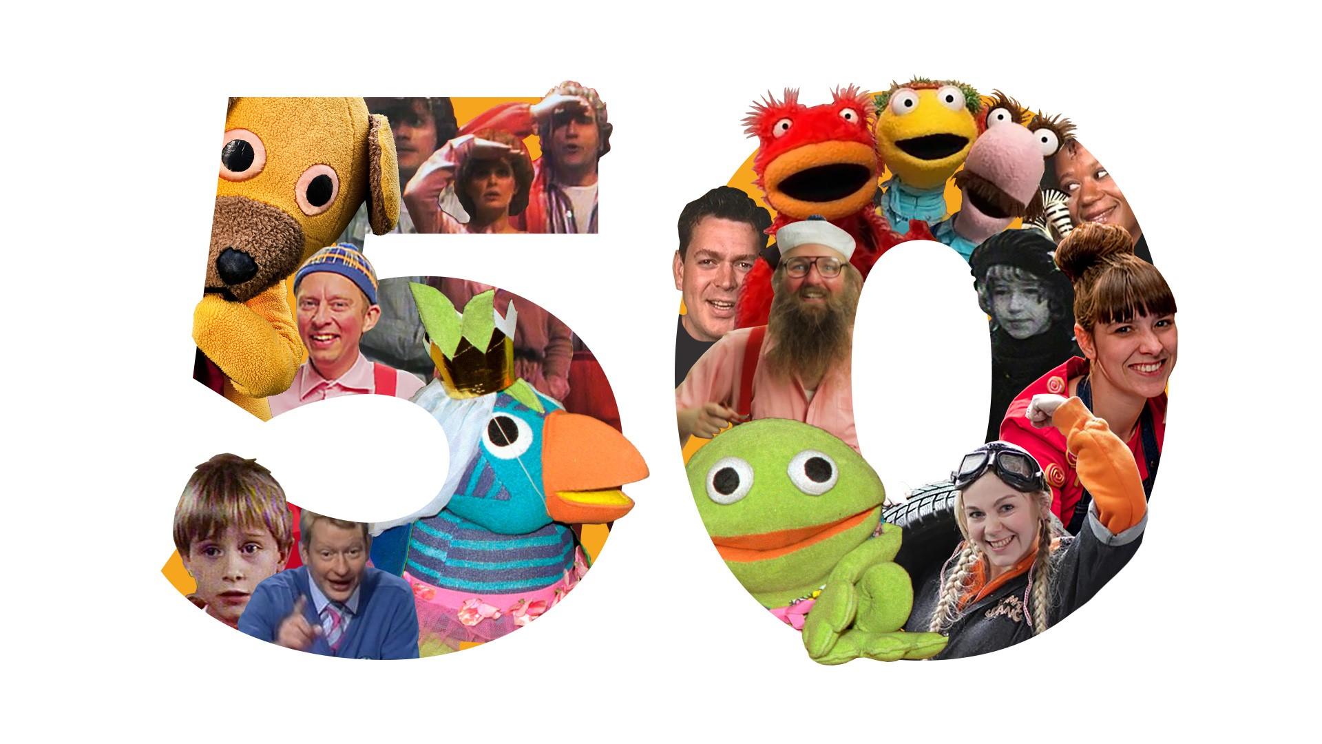 Zap dig igennem 50 års børne-tv