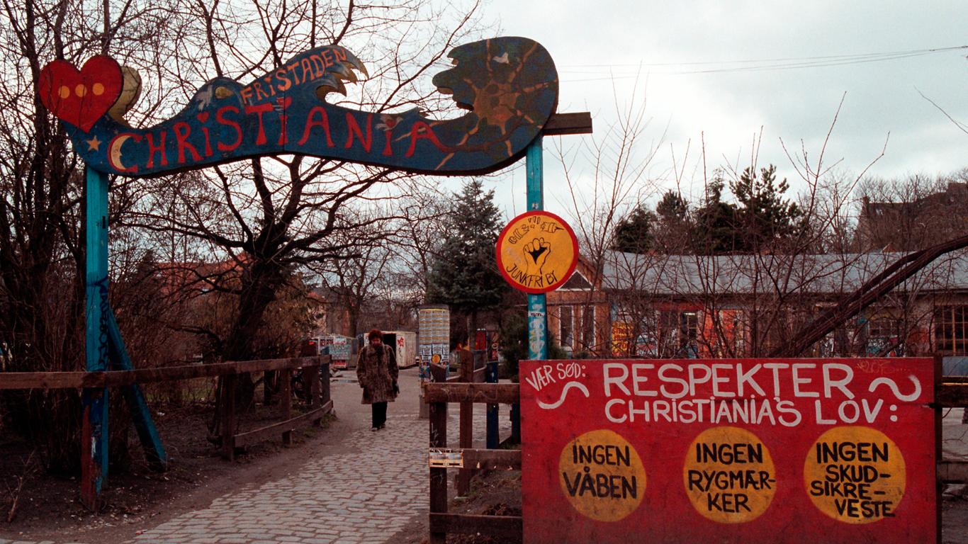 Christiania og stofferne