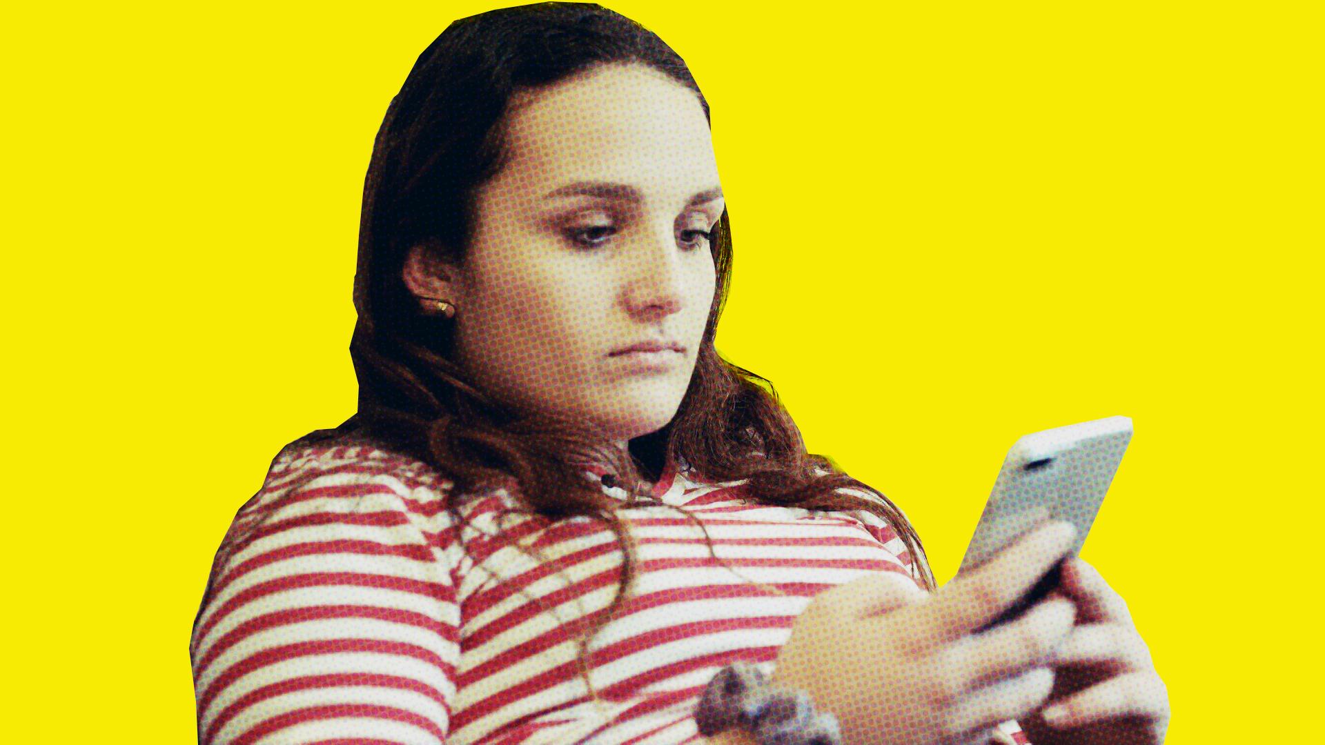 Emma Damgaard er afhængig af Snapchat