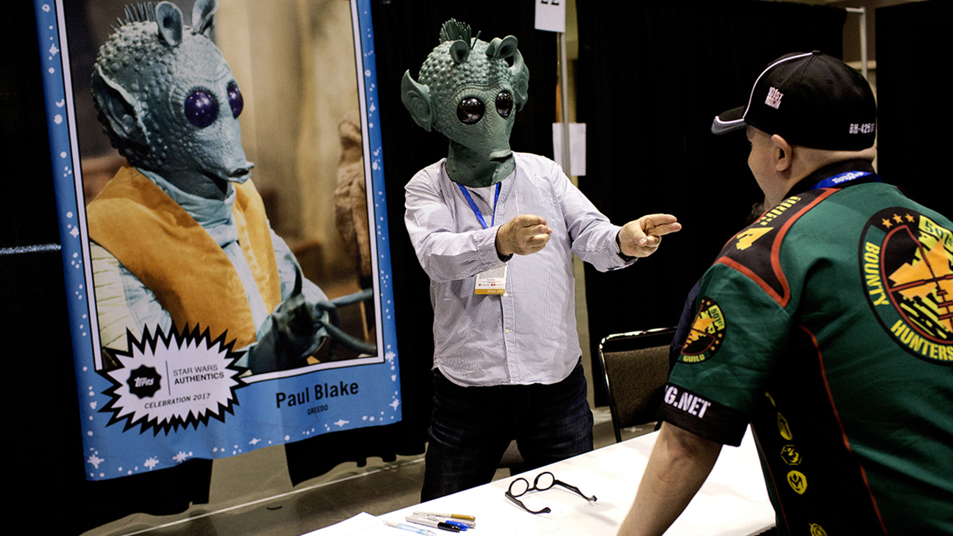 Manden bag den grønne maske