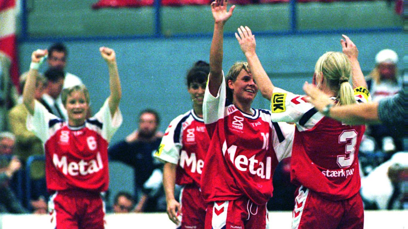 kvindelandsholdet håndbold 1996