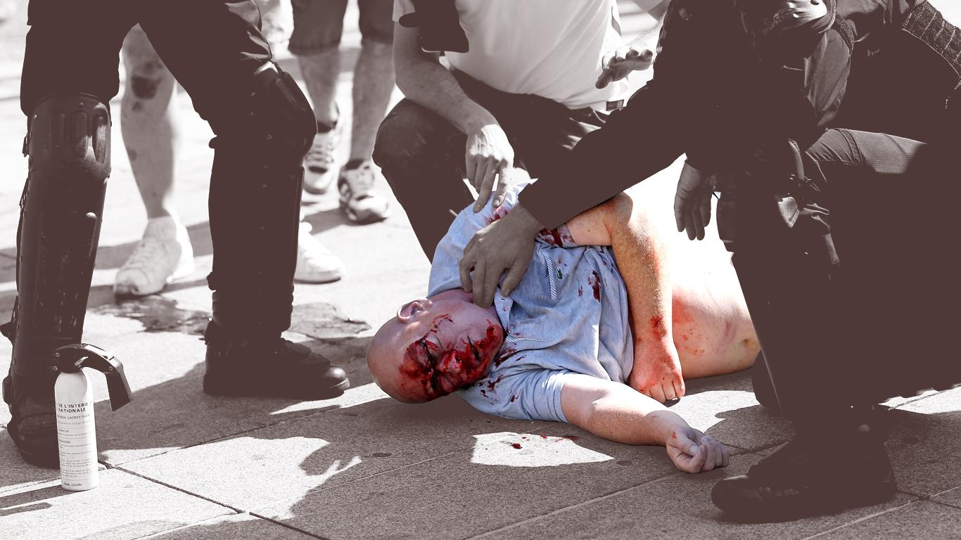 Russiske hooligans lever og ånder for fodboldvold