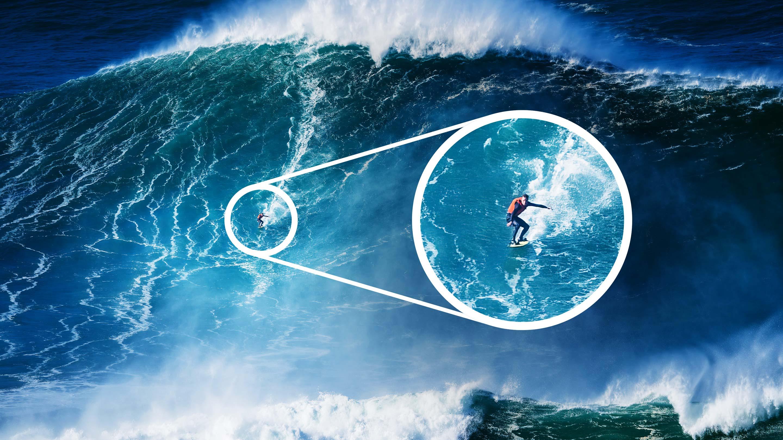 Flere tusinder kom for at se dem bestige århundredets bølger. Nu har corona sat en stopper for det)
