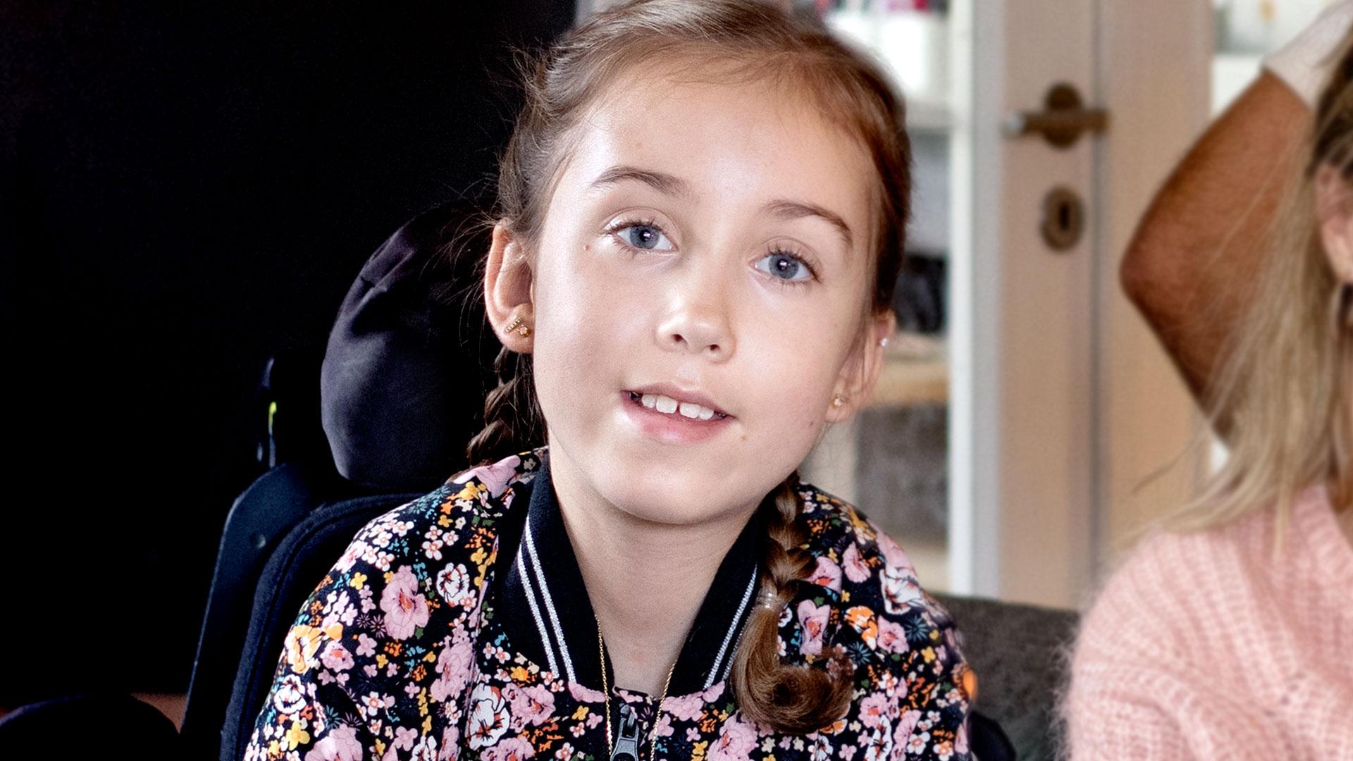 10-årige Maise kan dø af corona: Jeg vil hellere smittes end isoleres igen