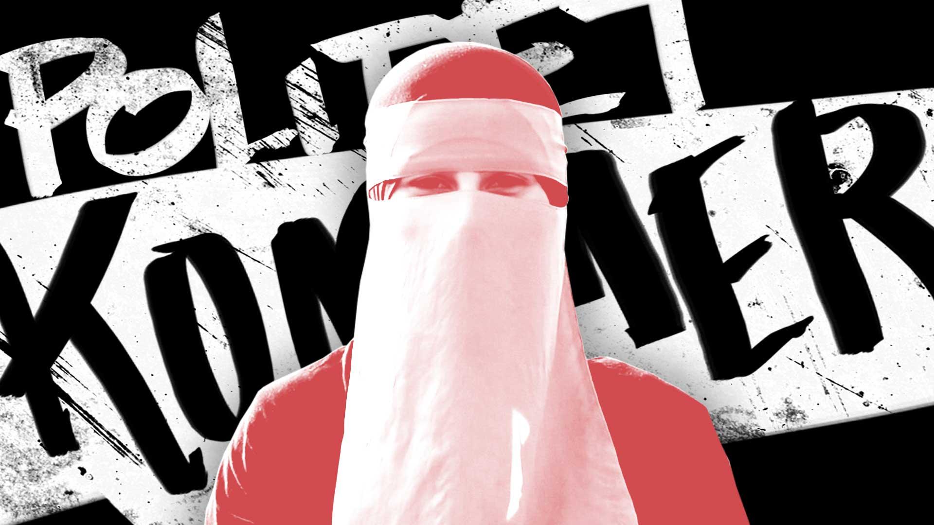 Meryem bryder 'burkaloven': – Jeg har max 10 minutter før politiet kommer)