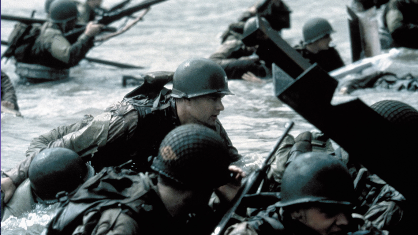 'Saving Private Ryan' fra 1998. Foto: Dreamworks/Scanpix.