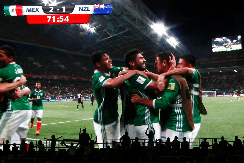 VIDEO Højdepunkter fra Mexico-New Zealand