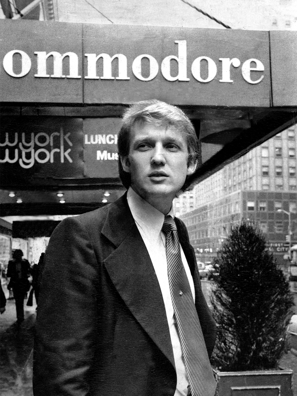 Donalds store drøm som ung var at slå igennem som bygherre på Manhatten. Foto: John Pedin / Getty Images.