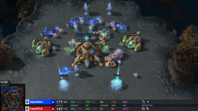 Kunstig intelligens vinder over professionelle Starcraft-spillere
