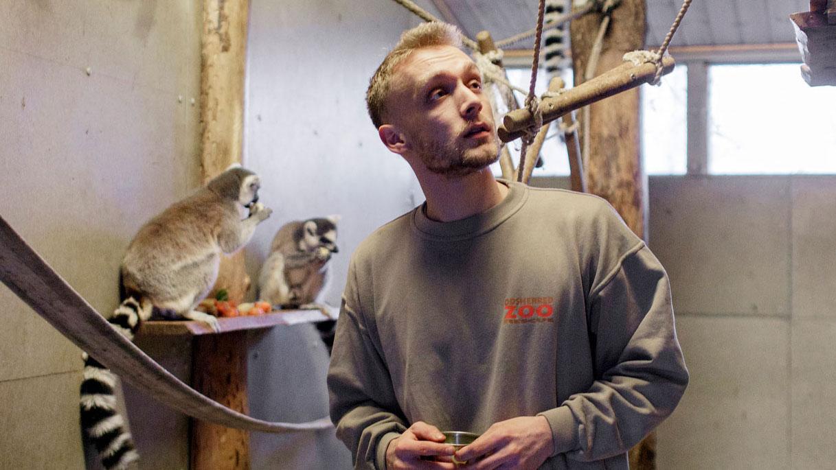 Nikolai bor i zoologisk have - herfra vil han redde verden
