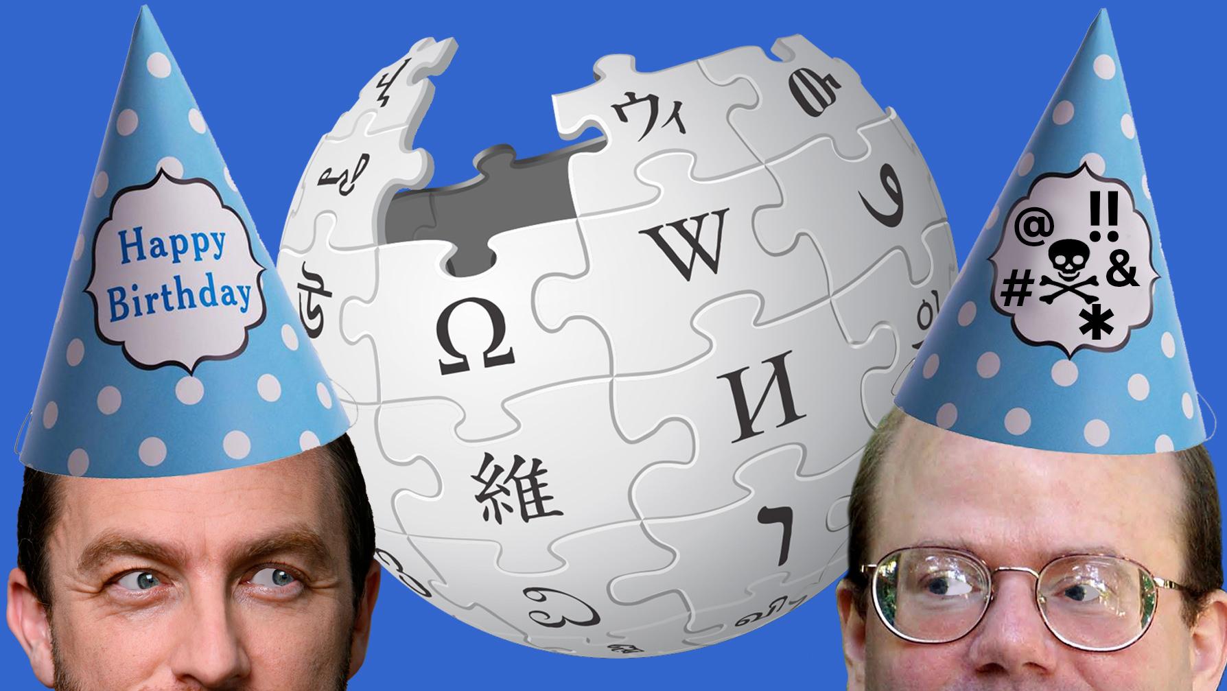 Farvel til teenageren Wikipedia. Her er 10 ting, du måske ikke vidste om 20-års fødselaren)